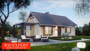 Строительство домов под ключ проекты и цены-BAU1-61-2 Спб Санкт-Петербург